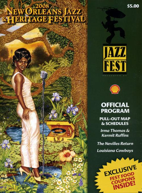 Official Jazzfest program