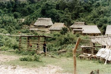 Hmong Minority village