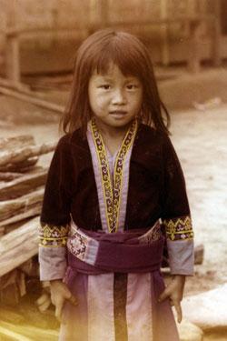 Hmong Minority child