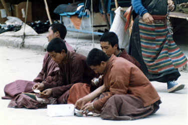 Monks in Barkhor