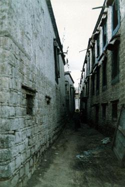 Lhasa back street