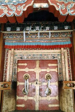 Handong College door