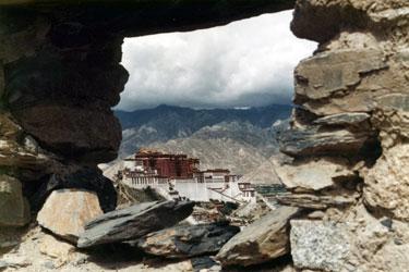 Potala from Chokpori summit