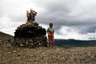 Tso La summit