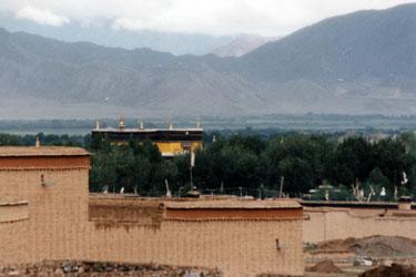 Panchen Lama's palace Shigatse