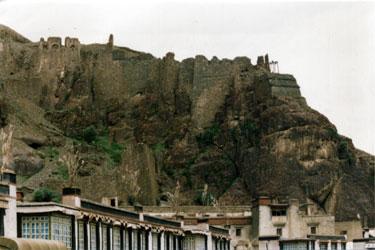 Ruins of Shigatse Dzong