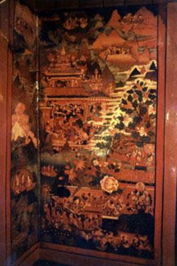 Lukhang temple mural