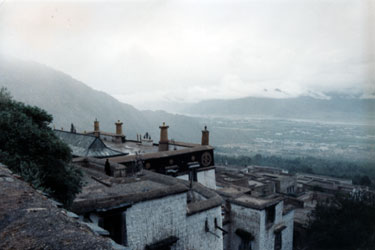 View from Drepung