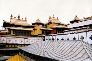 Potala roof