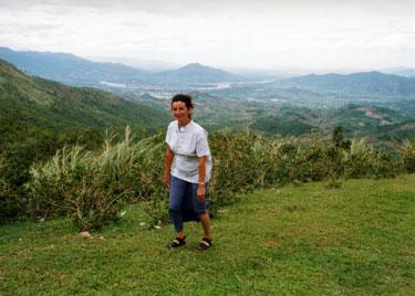 Sheila trekking