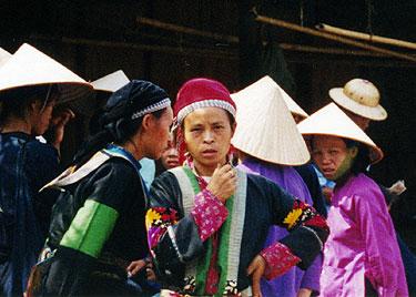 Ladies in market