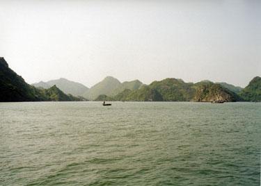 In Halong Bay