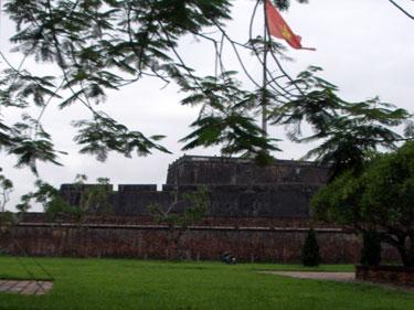 Hue citadel wall