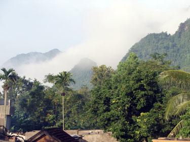 View at Phong Nha