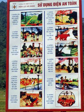 Rural propaganda poster