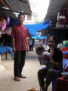 Mr Truc in market