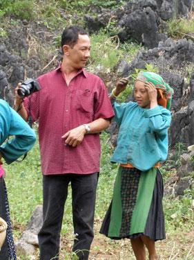 Mr Truc & Hmong girl