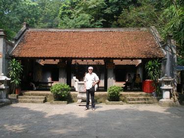 Derek at temple